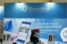 ISE2019 Doorbird presente sa station video interieur00