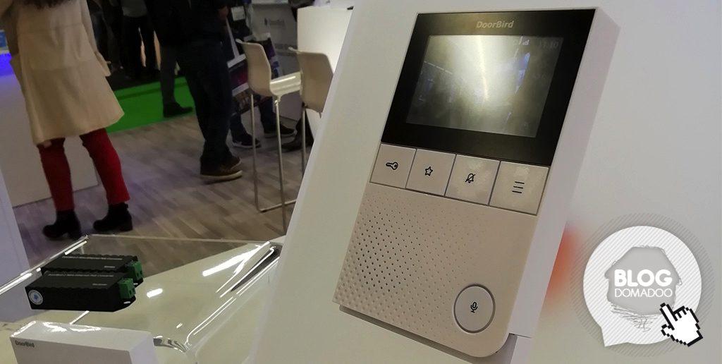 #ISE2019: Doorbird présente sa station vidéo intérieur 2