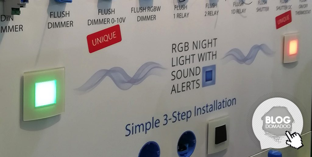#ISE2019: Qubino (Re)dévoile sa veilleuse nocturne RGB avec alerte sonore 1