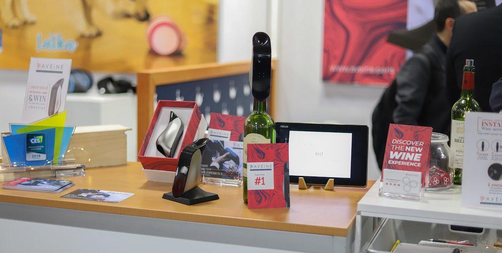 #CES2019 : Rencontre avec Aveine et son aérateur de vin connecté