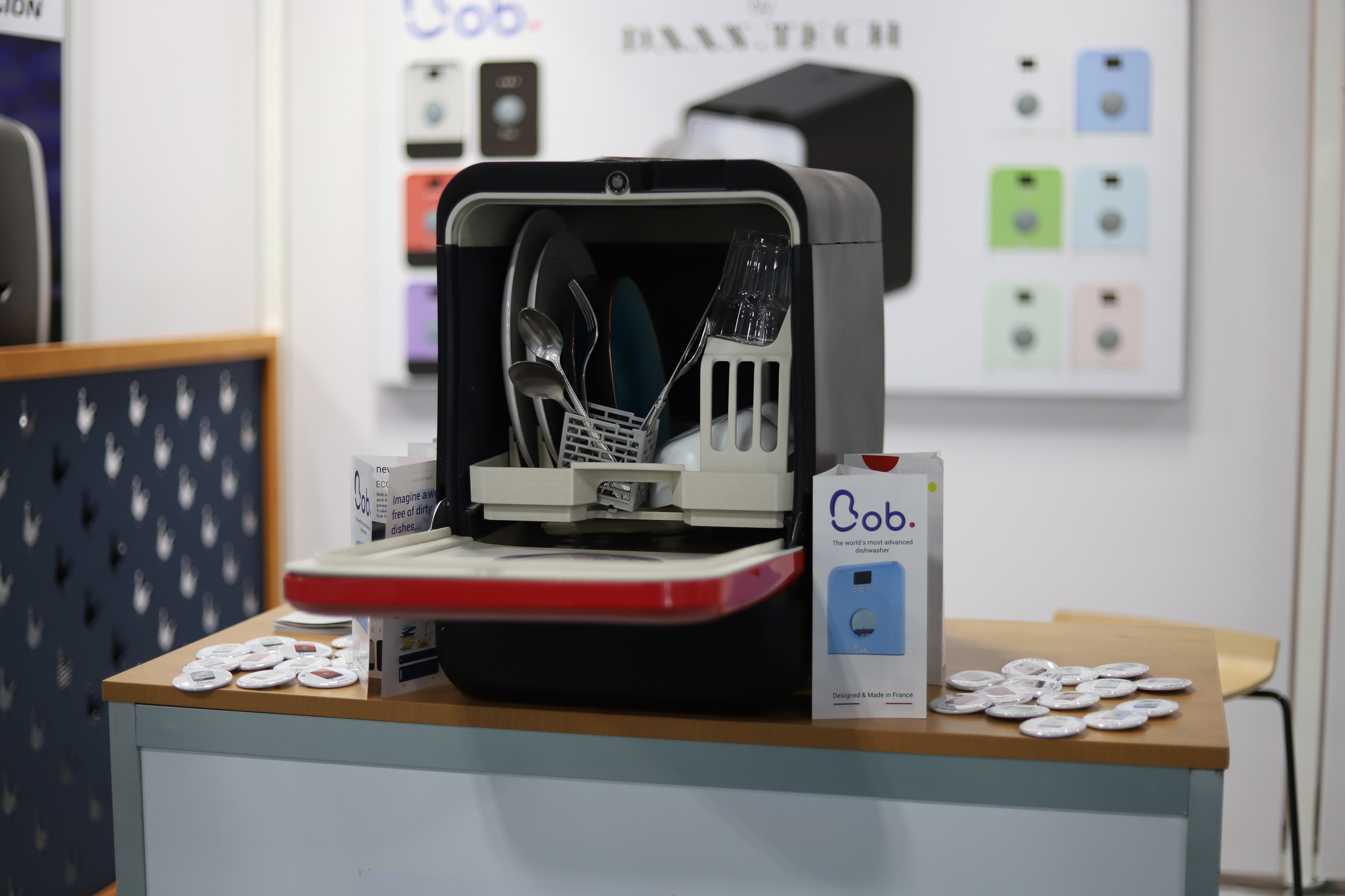 Bob Le Lave Vaisselle Intelligent Qui Nettoie Votre Vaisselle Avec