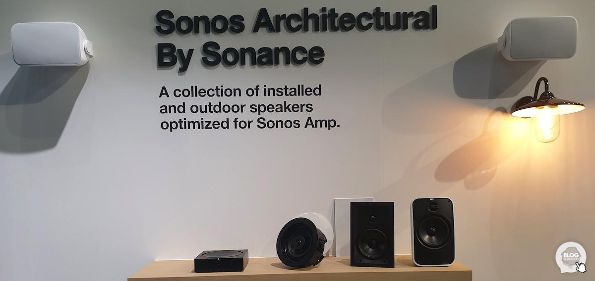 #ISE2019: Sonos présente son nouvel ampli et ses enceintes encastrables pour répondre aux intégrateurs