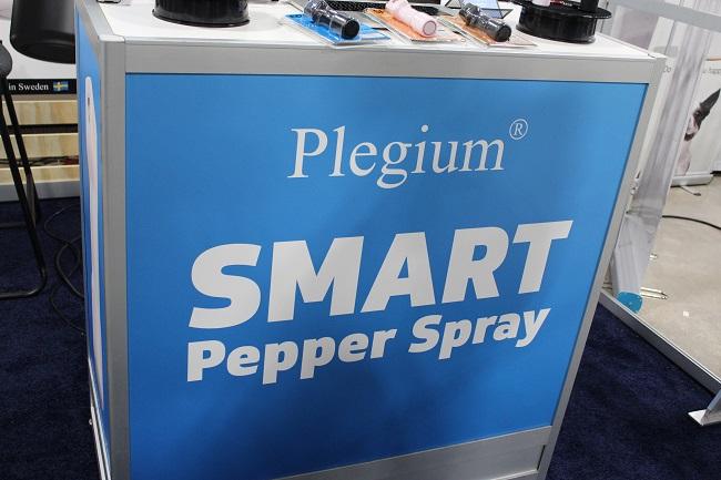 plegium smart pepper spray ces2019