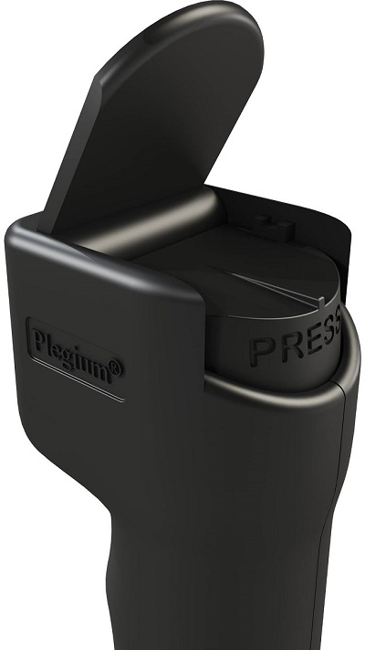 plegium smart pepper spray press