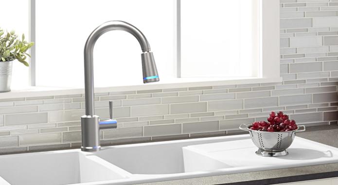 Tern Smart Faucet: le robinet connecté qui purifie l'eau
