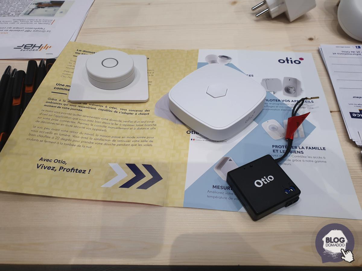 Otio présente sa nouvelle gamme domotique à Vivatech