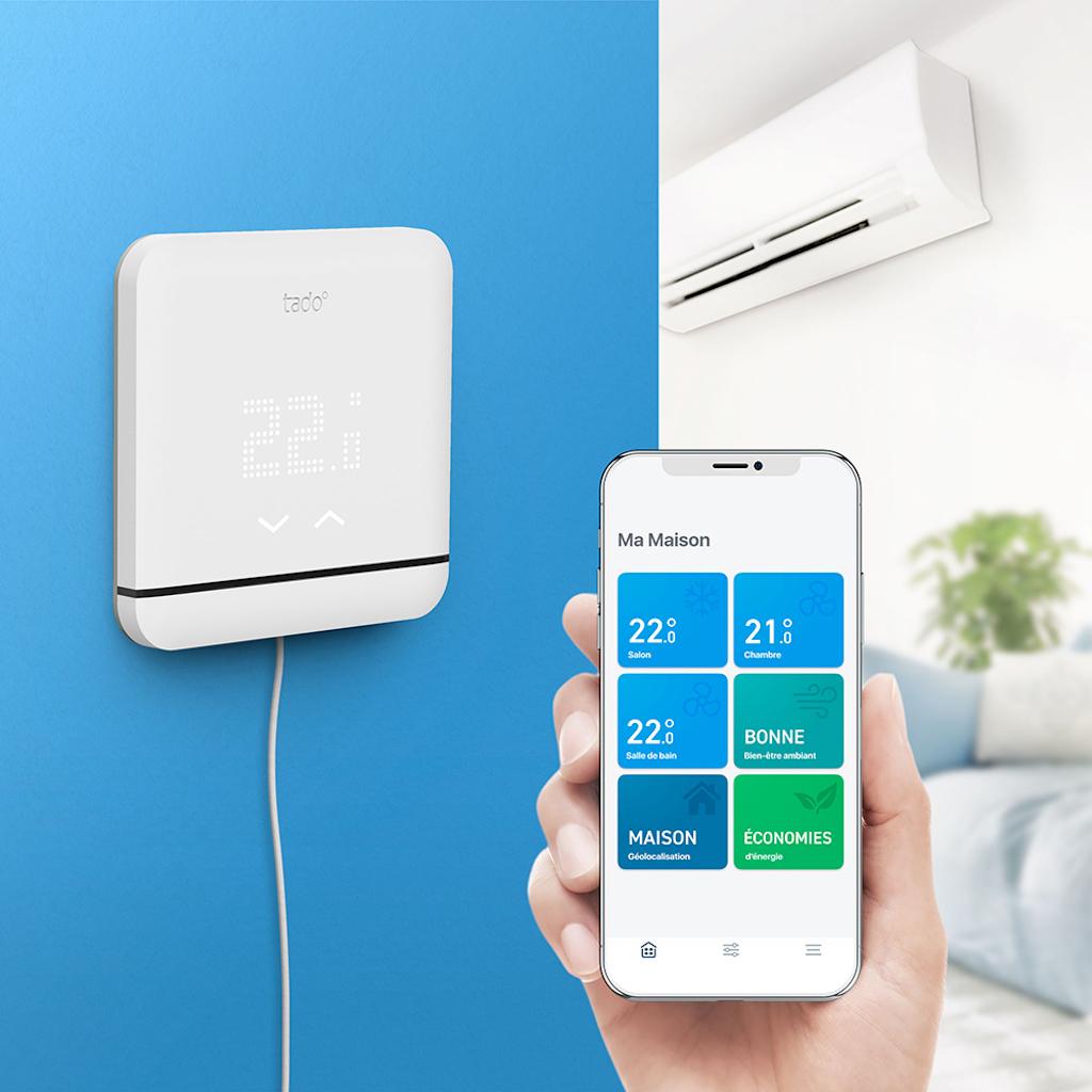 6 tado¯ Smart AC Control APP V3 front cooling FR