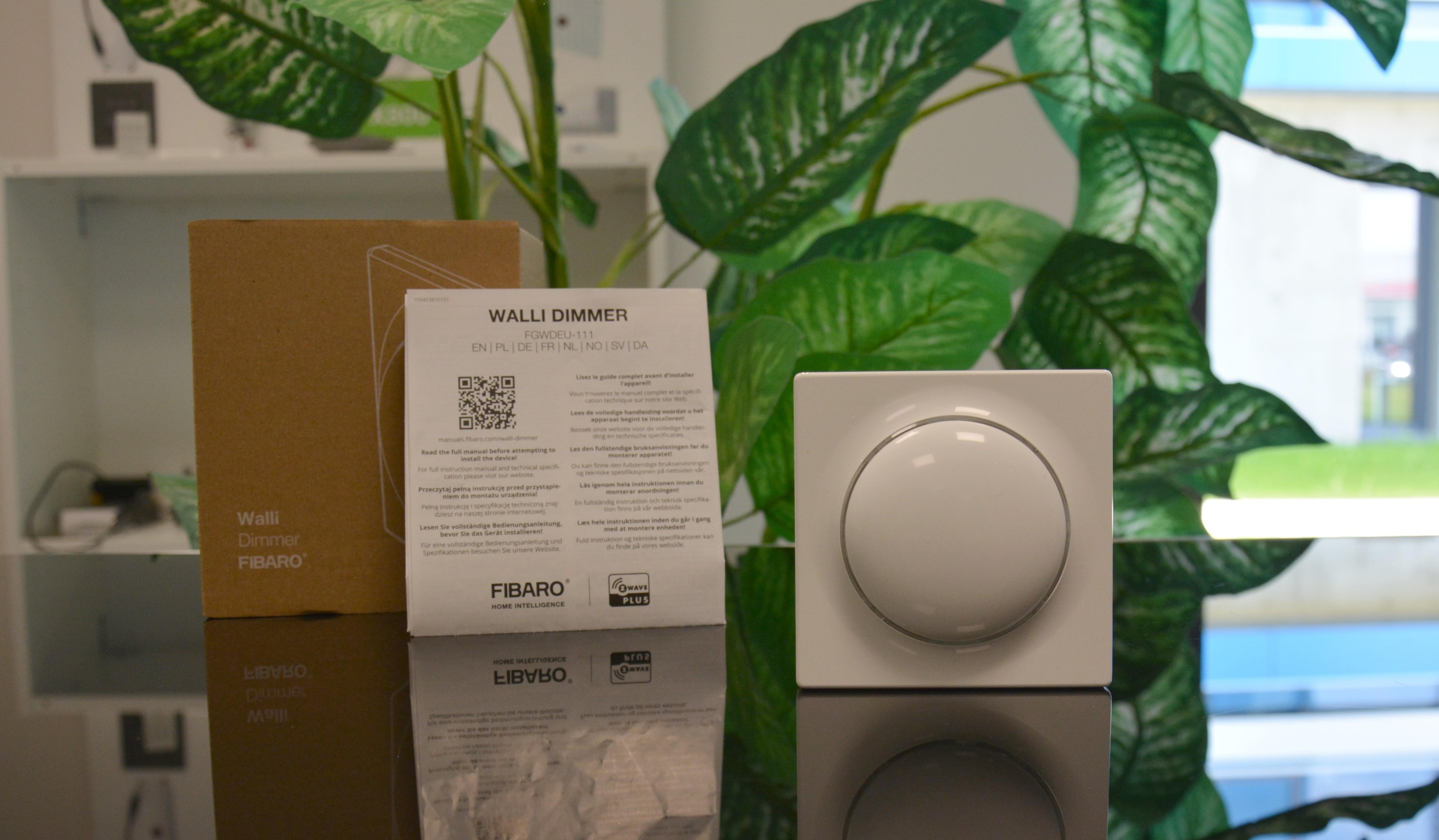 Un logement intelligent et élégant avec la gamme Walli par Fibaro