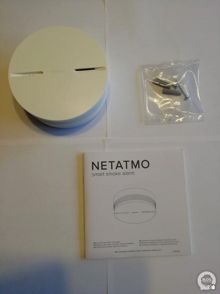 06Netatmo Détecteur de fumée