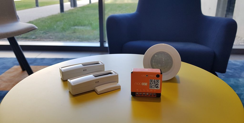 gestion eclairage automatique domotique enocean