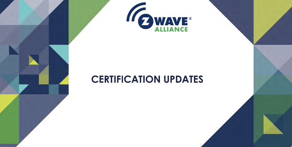 z wave certification v2 une