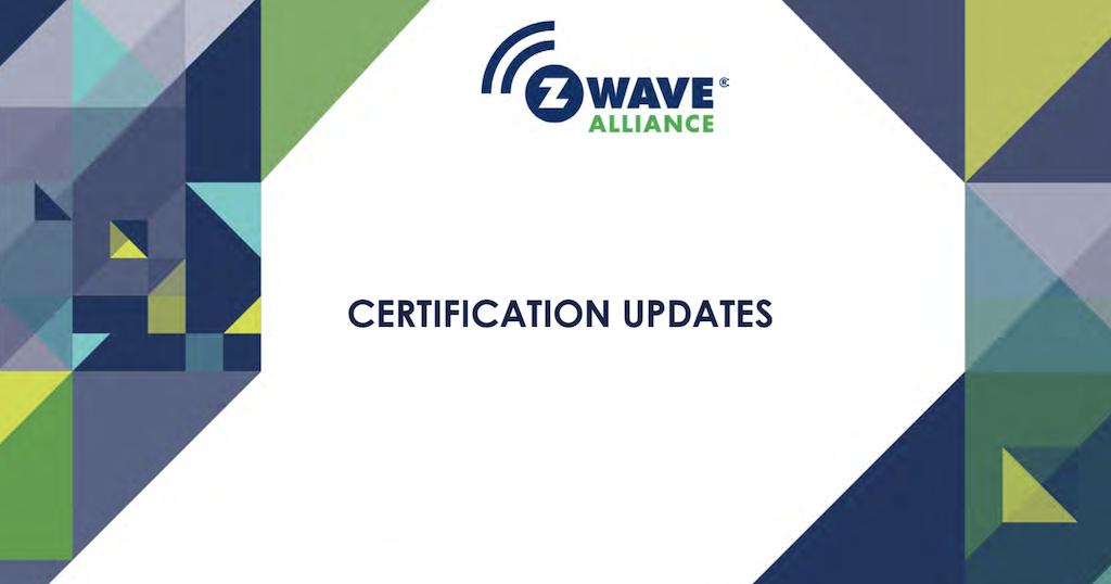 La Z-Wave Alliance dévoile la certification Z-Wave Plus v2 pour la série 700