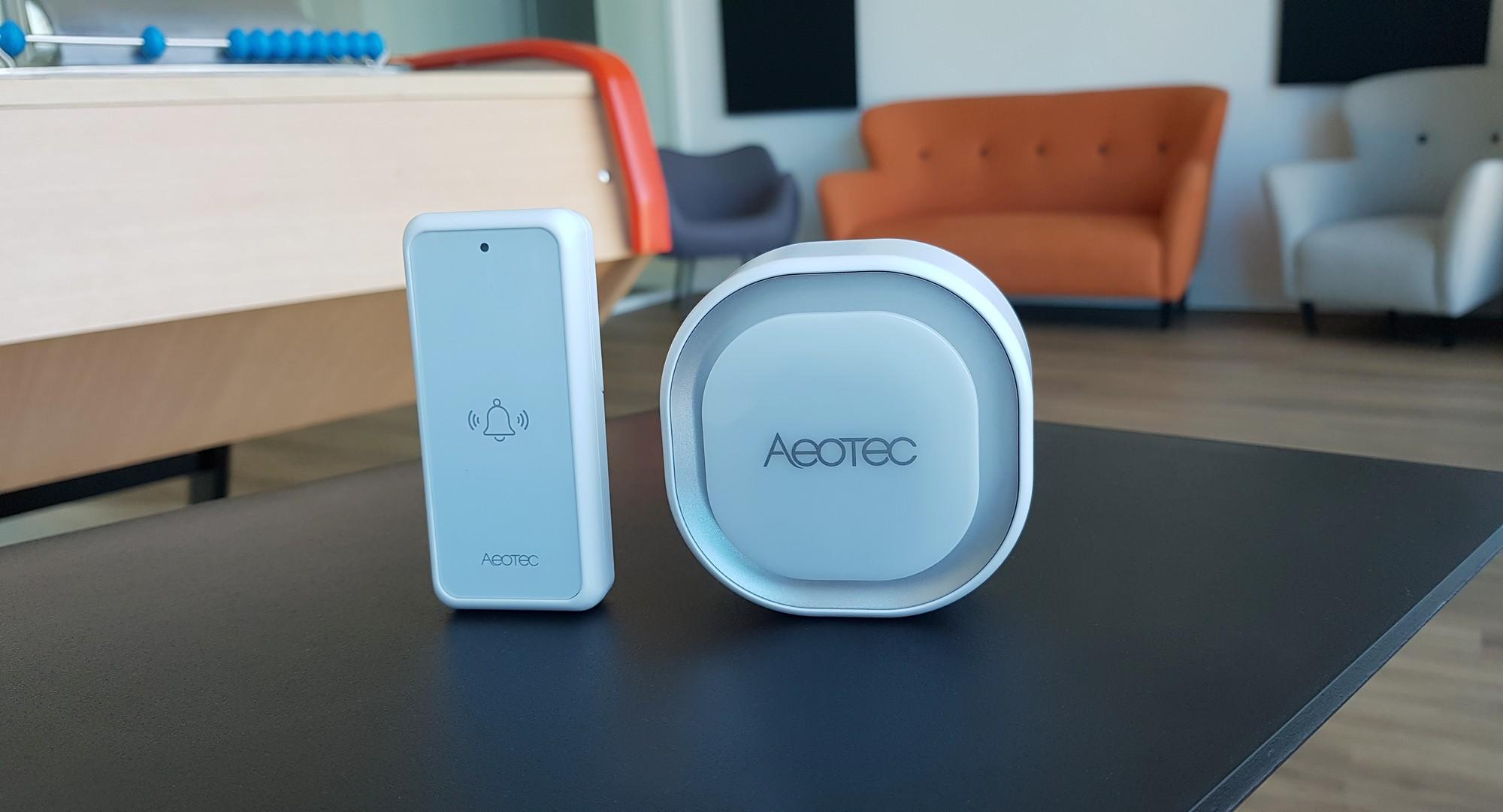 Intégration de la sonnette connectée Aeotec