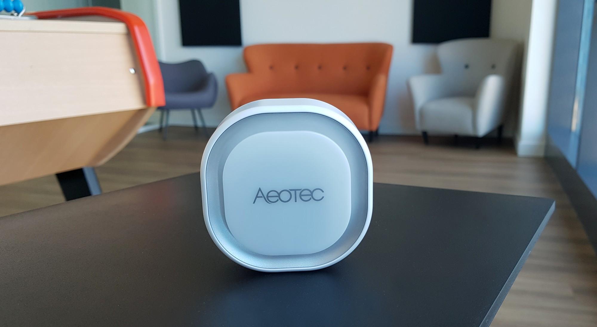 Présentation de la sirène connectée Aeotec