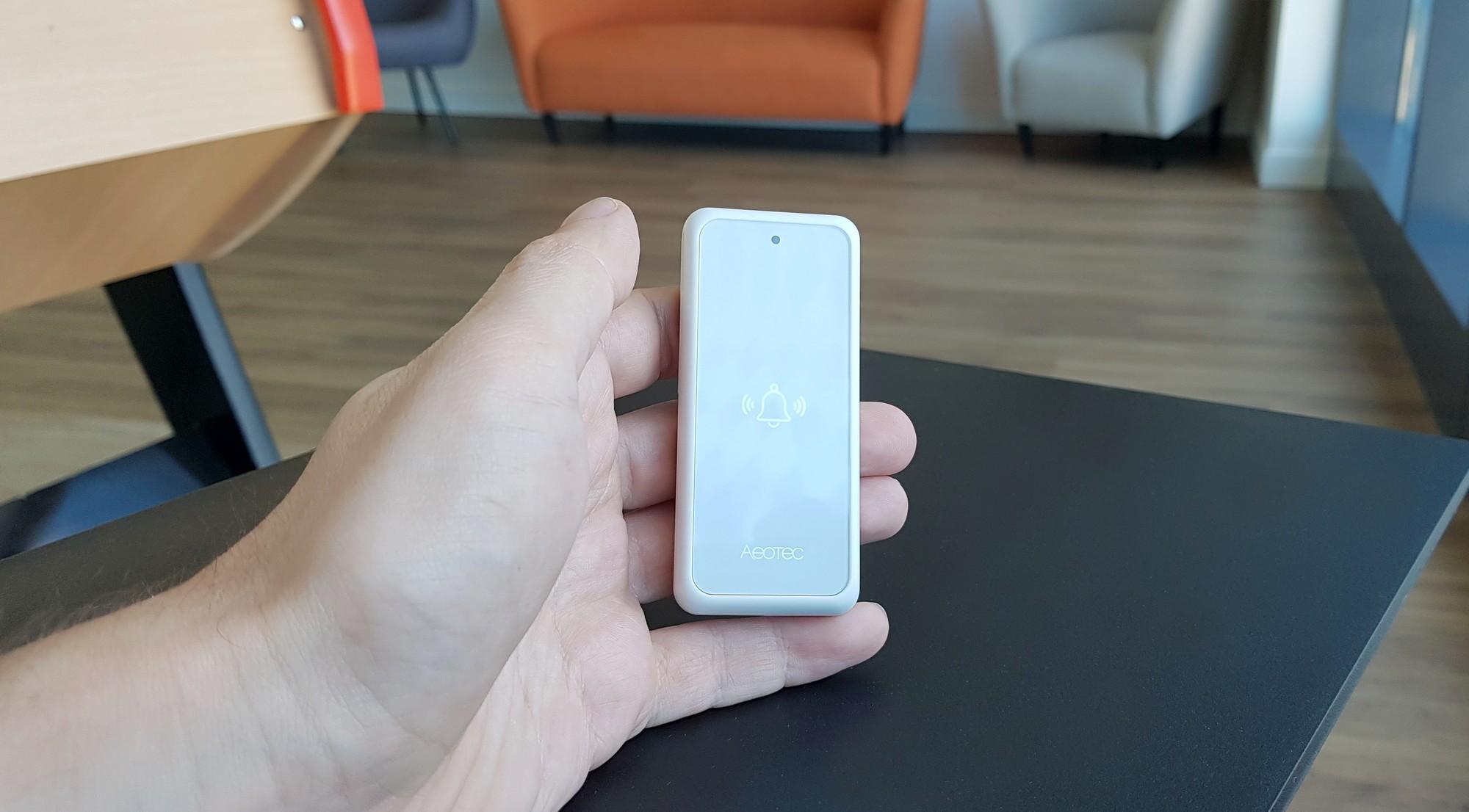 Présentation du bouton connecté Aeotec