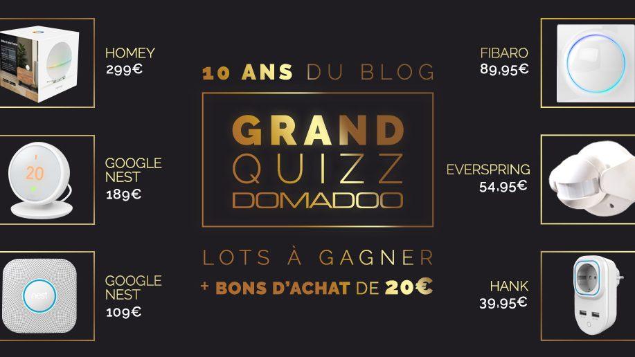 #Concours 10 ans Domadoo: et les gagnants sont…