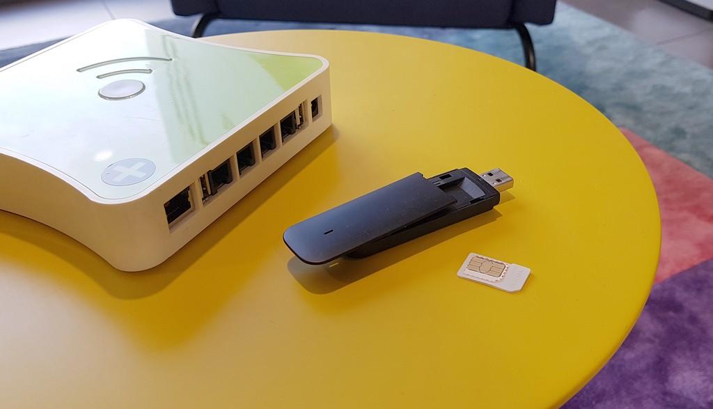 Mise en place d'une installation domotique sans connexion internet filaire