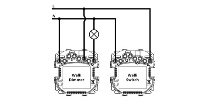 Utilisation du neutre sur le Walli Dimmer et Walli Switch