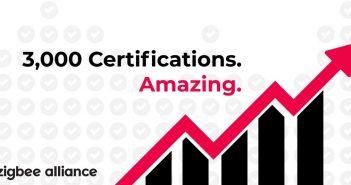 zigbee 3000 certified une