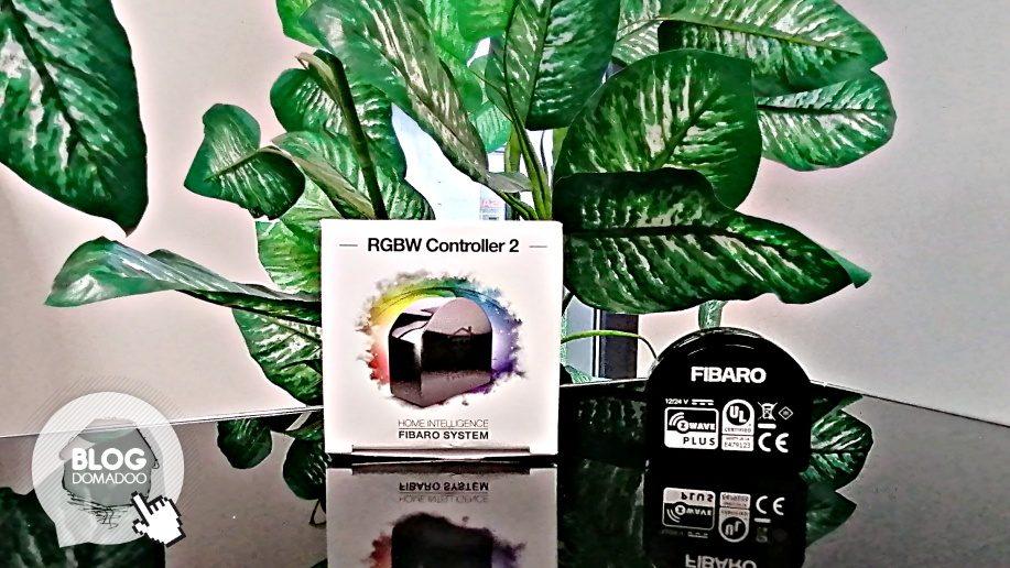 Découverte du RGBW Controller 2 Z-Wave+ de Fibaro