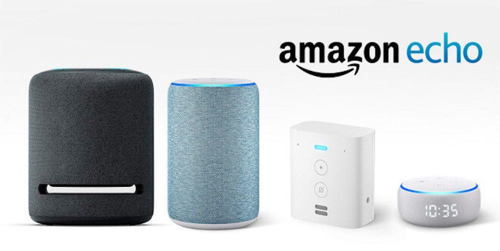 new amazon echo line