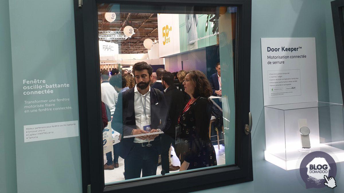 Somfy présente ses fenêtres connectées et sa nouvelle serrure Door Keeper à #BATIMAT2019