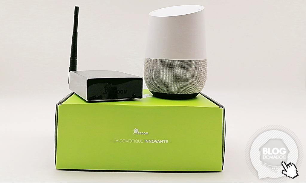 Jeedom : contrôle vocal avec Google Home