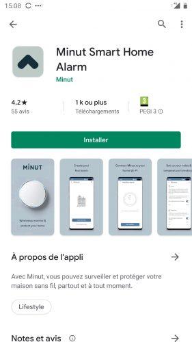 minut install app 1