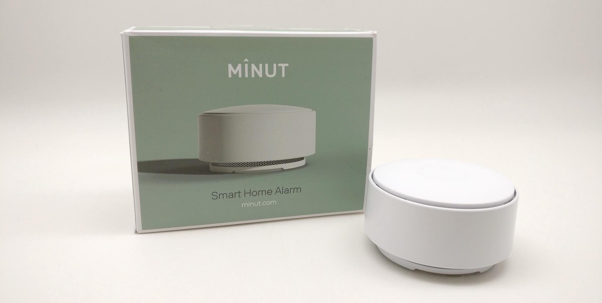 #Test de l'alarme sans fil connectée Mînut