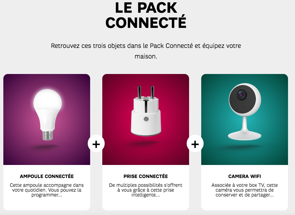 pack connecte