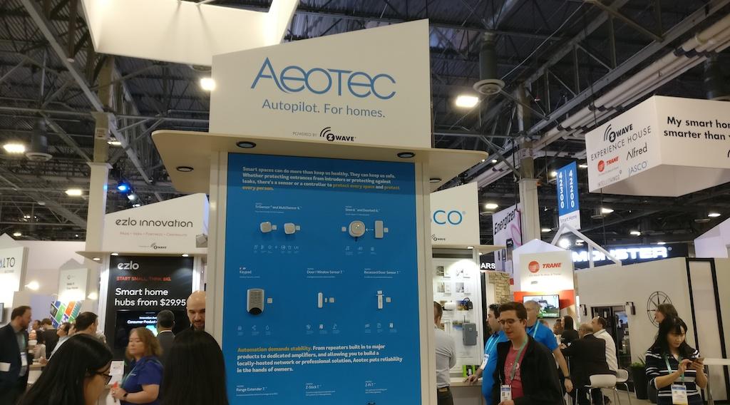 #CES2020 : Aeotec annonce sa gamme Z-Wave Gen7