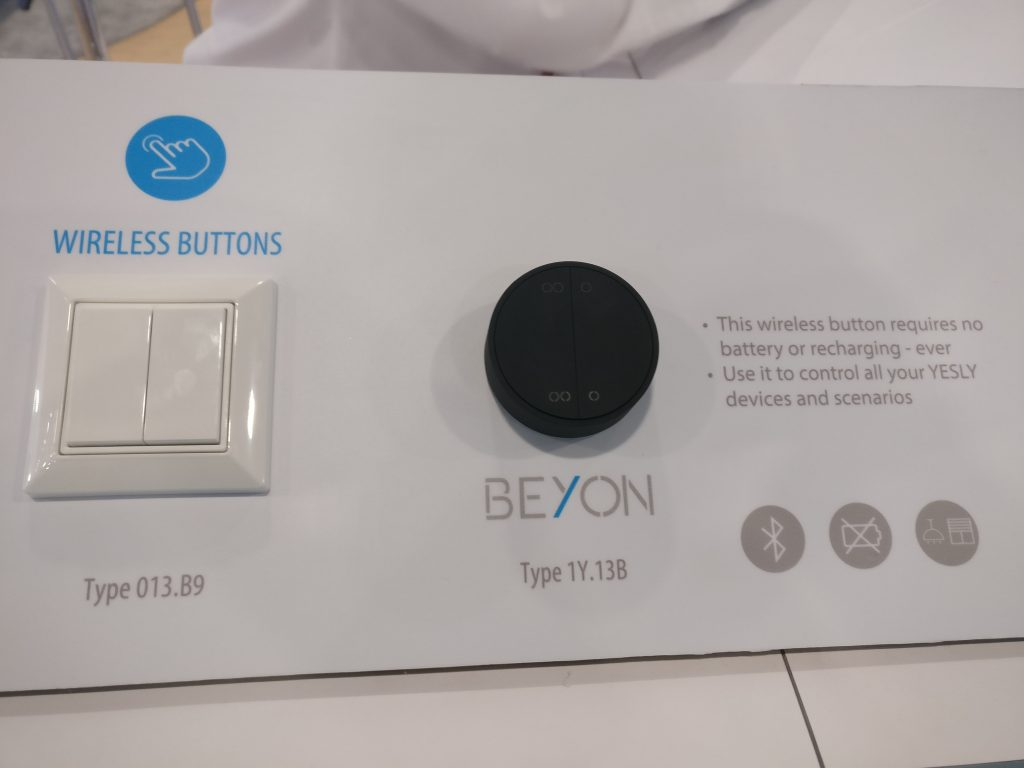 finder yesly ces2020 wireless button