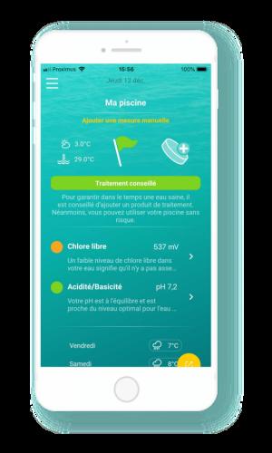 iopool ces2020 app home