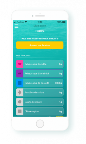 iopool ces2020 app stock
