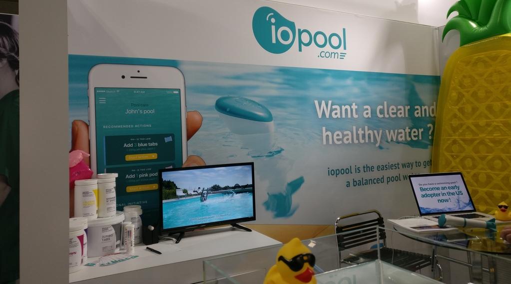 #CES2020 : EcO, une sonde de piscine connectée à moins de 200€