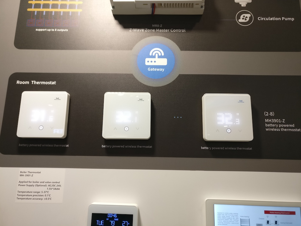 mcohome ces2020 room thermostat