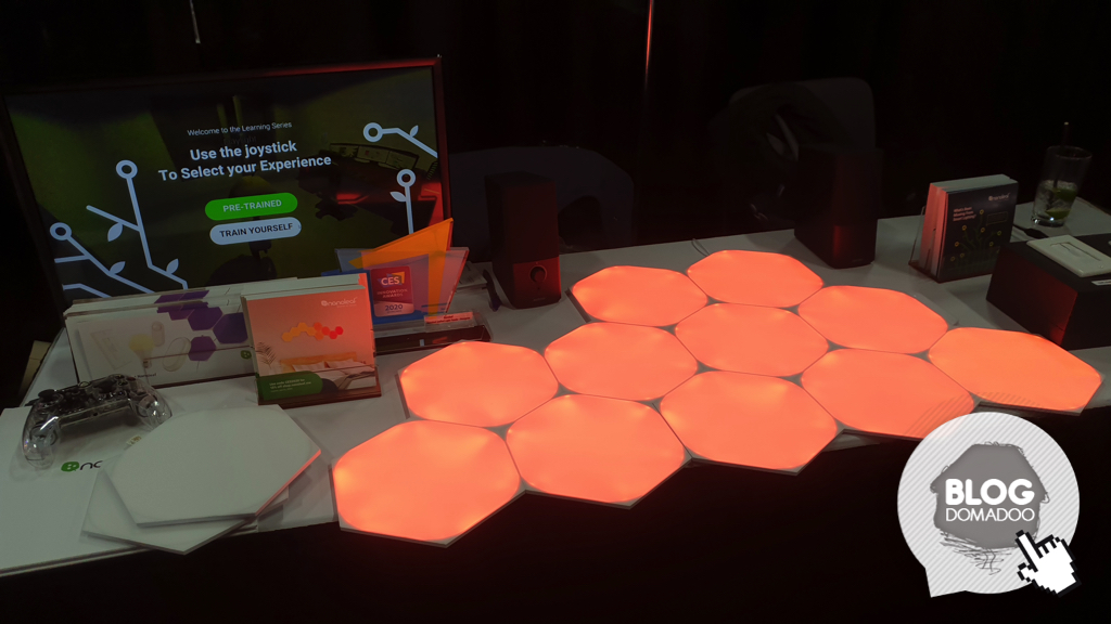 #CES2020 : Nanoleaf ajoute de l'intelligence à son éclairage connecté