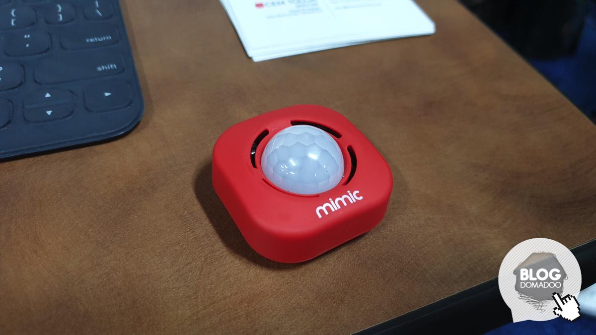 #CES2020 Mimic Go: le système de sécurité à emporter partout !