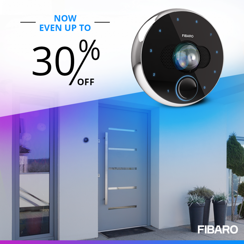 fibaro intercom new price 2020
