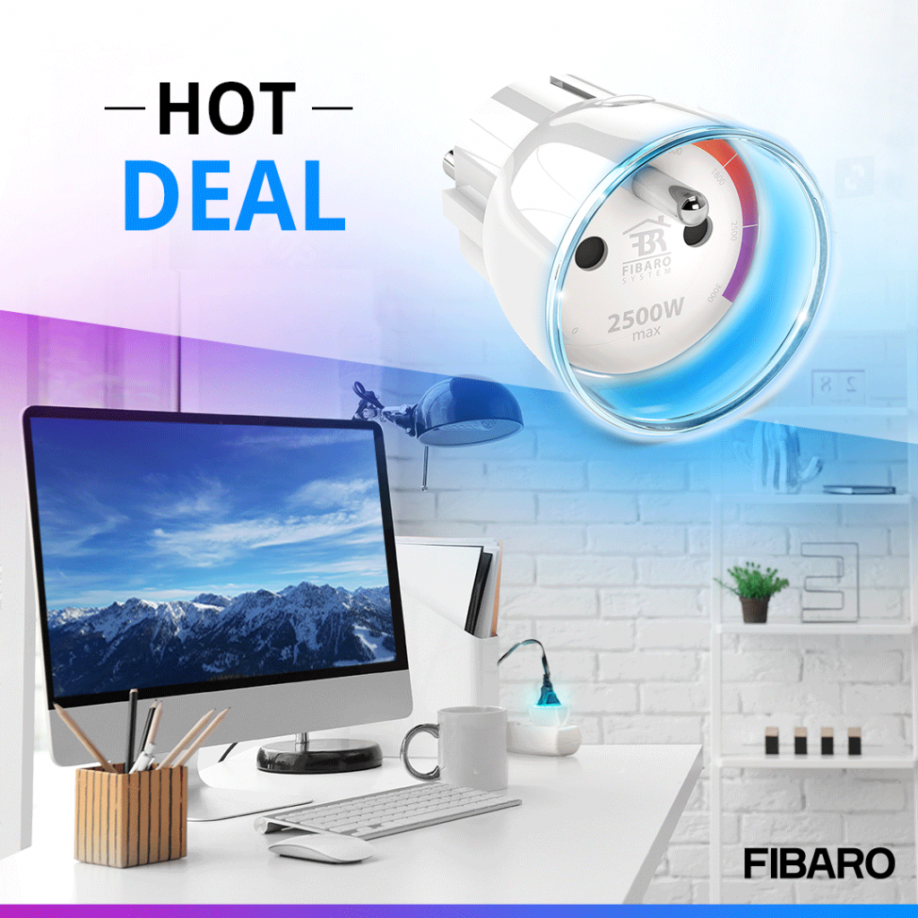 fibaro wall plug new price 2020