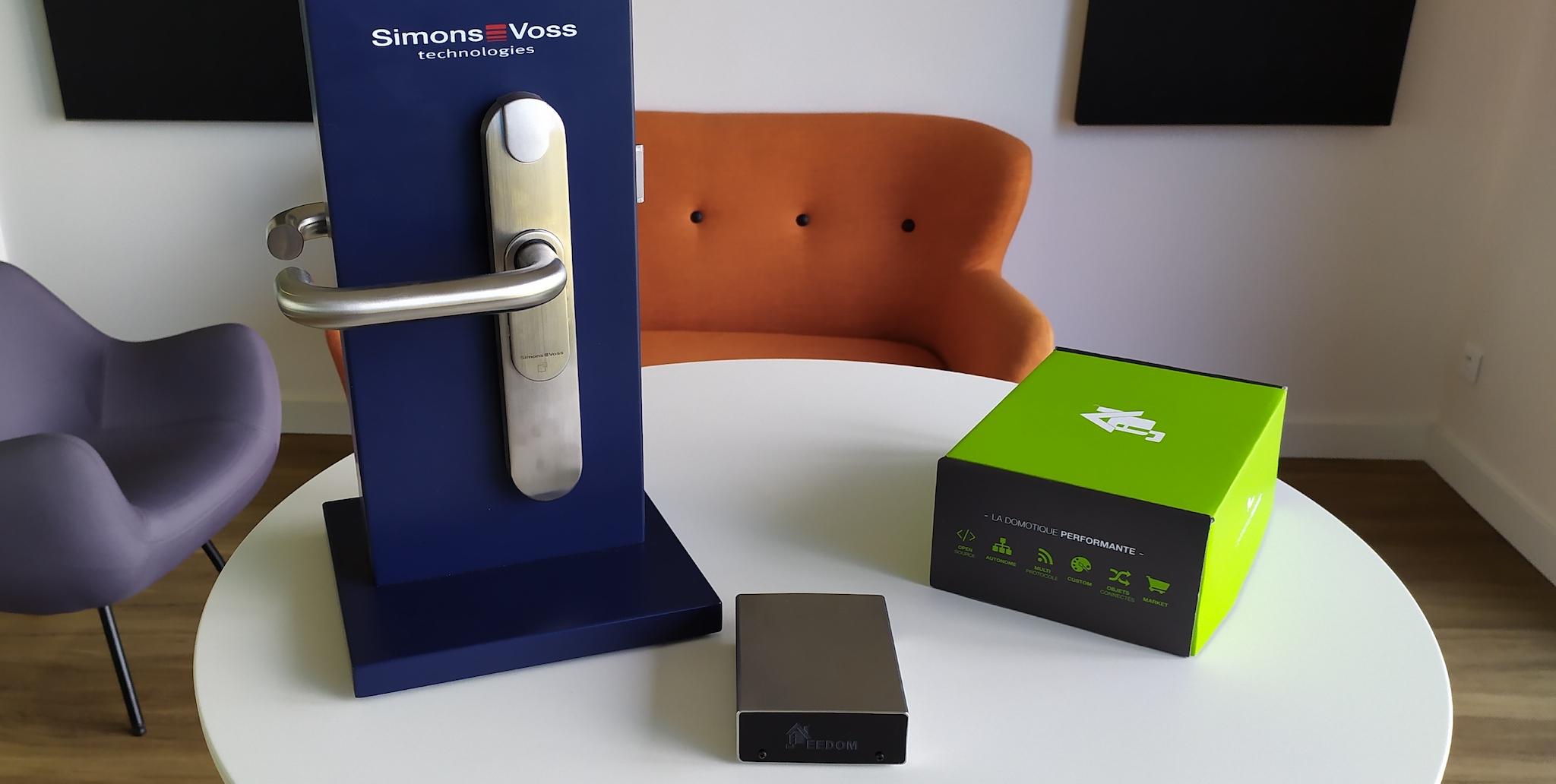 Jeedom s'allie avec SimonsVoss pour le contrôle d'accès intelligent