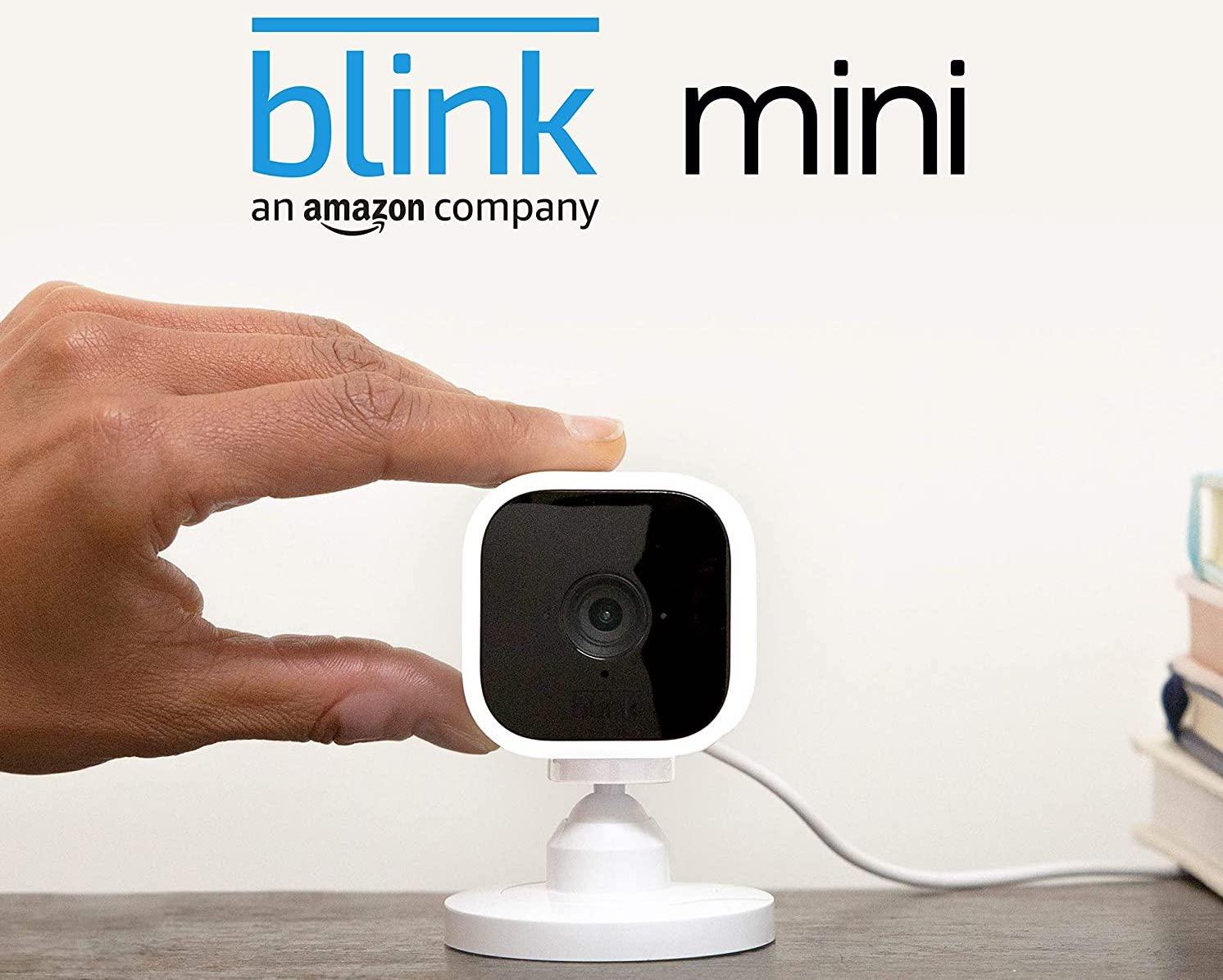 Blink Mini la nouvelle caméra d'Amazon à seulement 40€