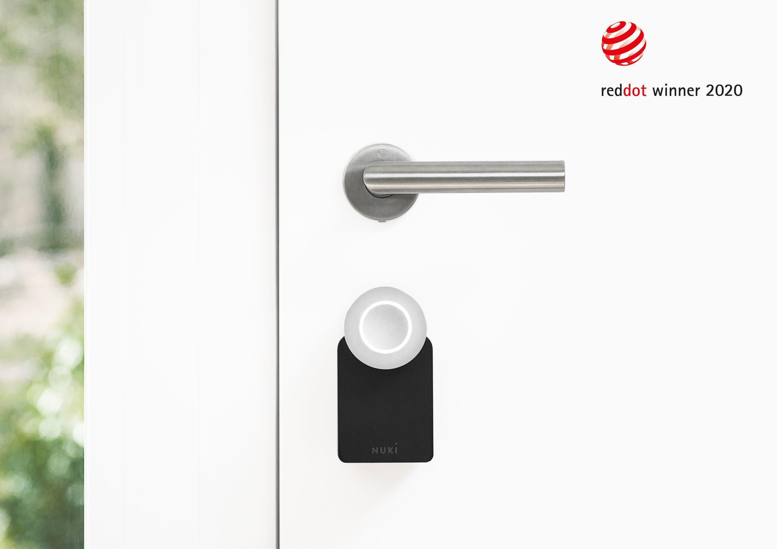 Smart Lock de Nuki récompensée d'un Red Dot Award