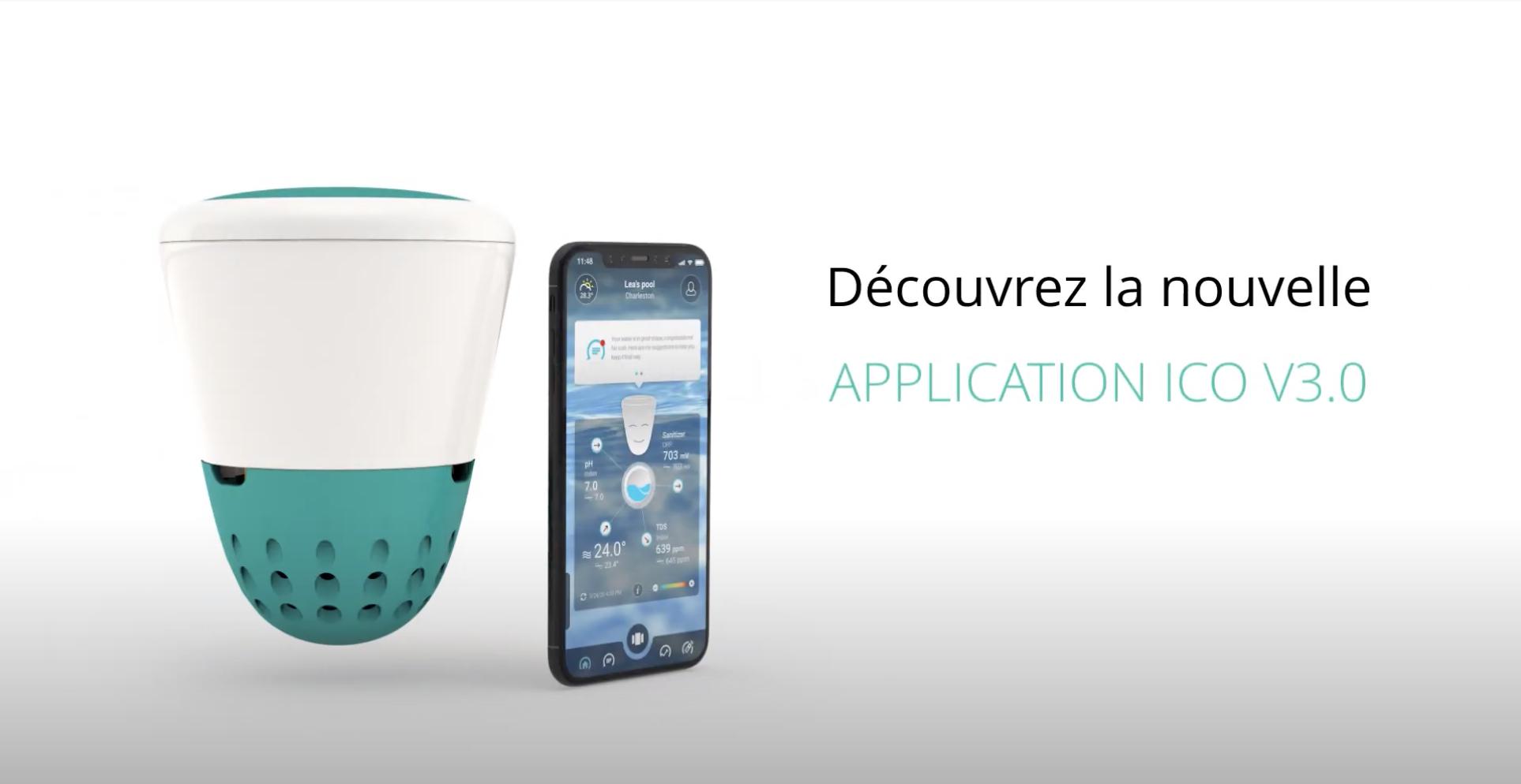 Nouvelle application mobile pour la sonde de piscine connectée Ondilo ICO