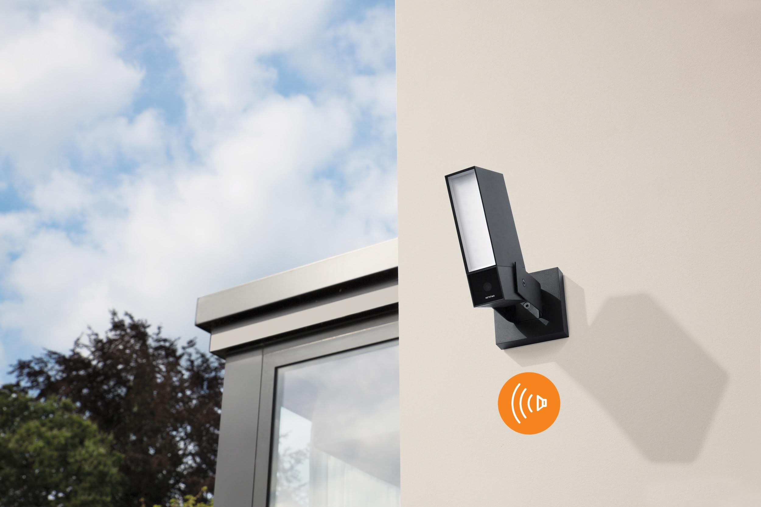 Une nouvelle caméra extérieure avec sirène intégrée chez Netatmo