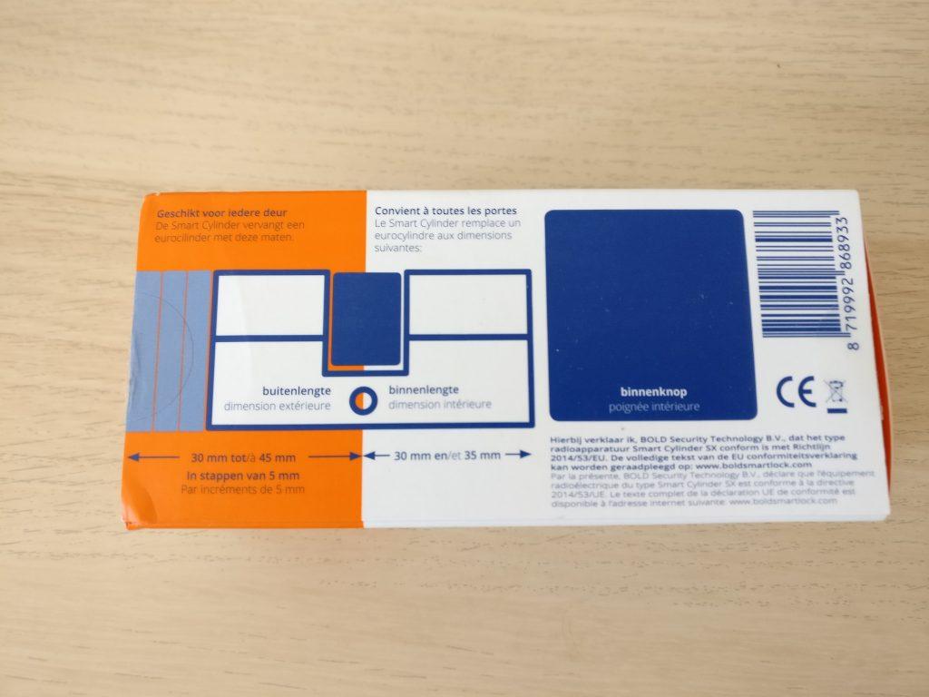 bold smart cylinder packaging back