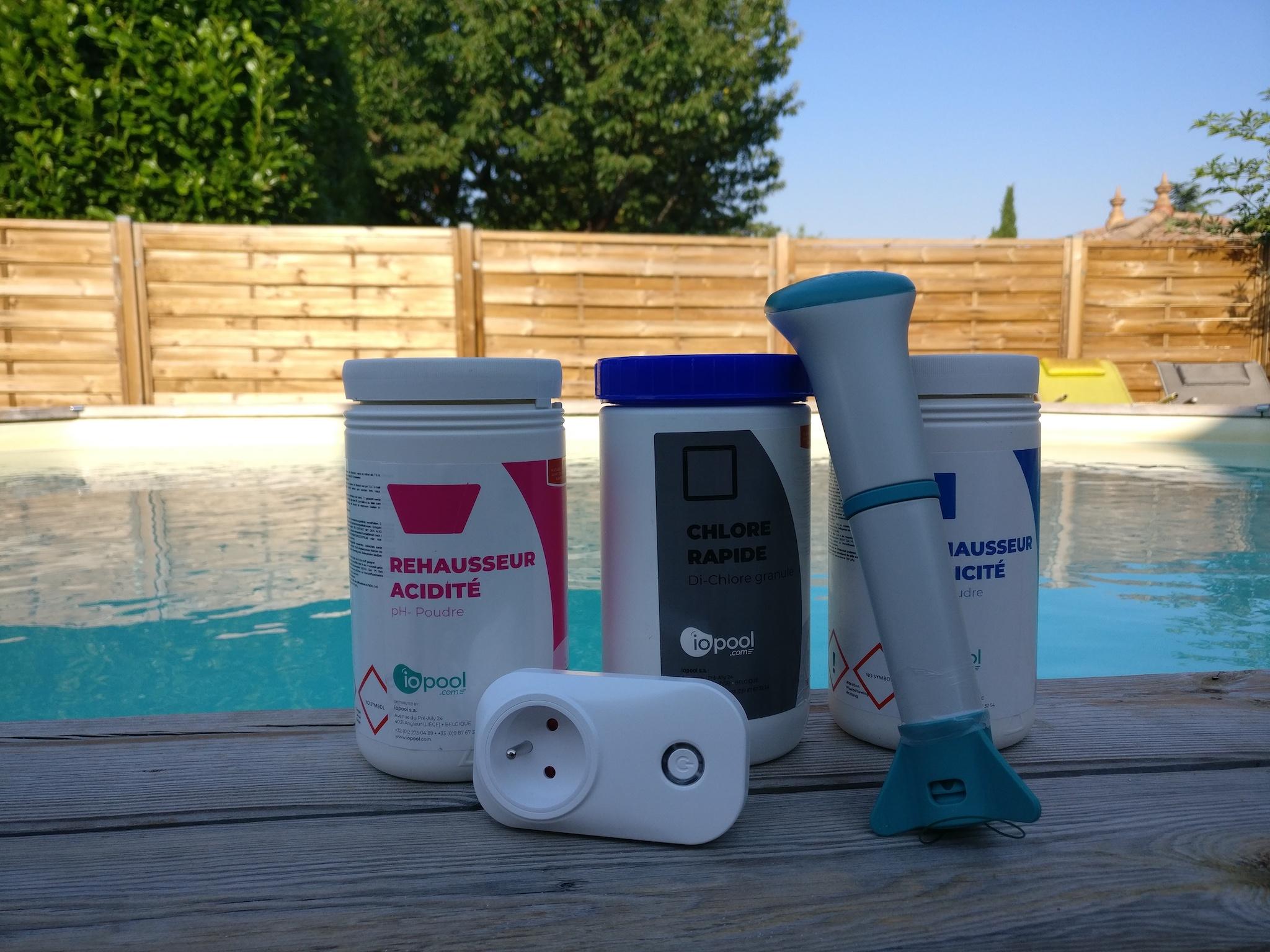 #Test de l'analyseur d'eau connecté pour piscine EcO de iopool