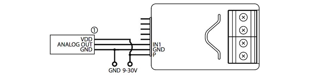 capteur analogique 0 10v z wave fibaro 2