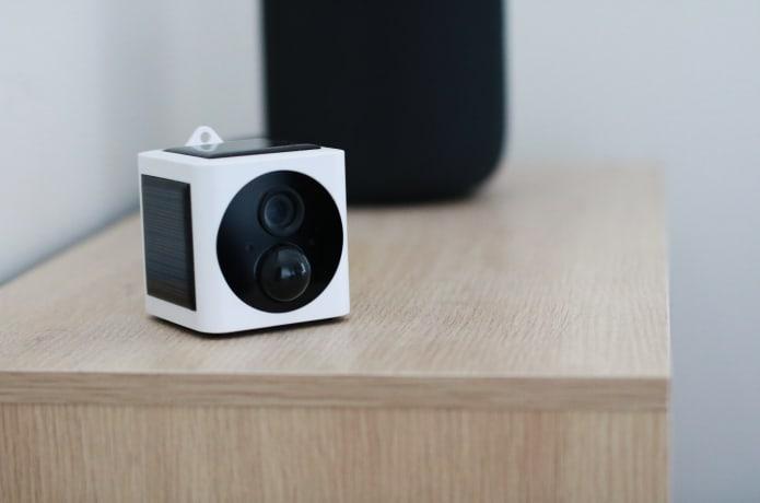 EyeCube, la caméra de sécurité solaire à emporter partout avec soi