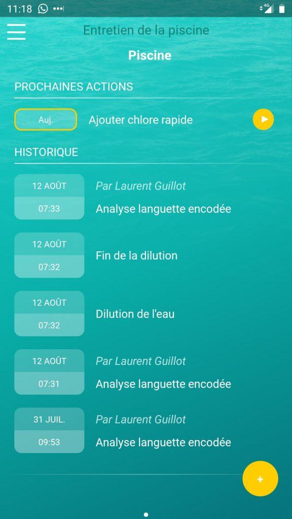 iopool eco app entretien